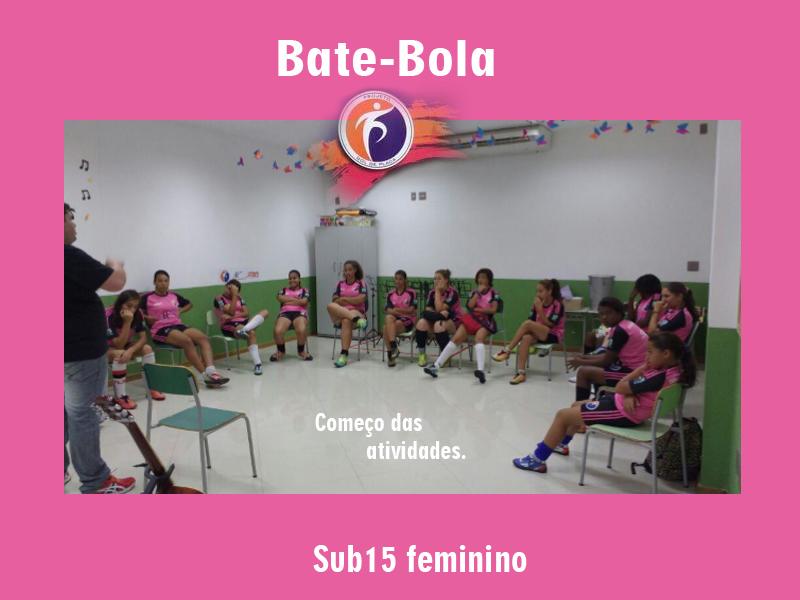 Primeiro Bate-Bola 2016 no núcleo: 02 - Instituo Francisco Faria.