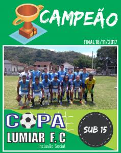 Campeão - Sub 15