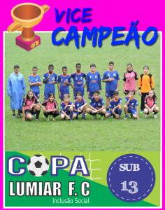 Vice-Campeão - Sub 13