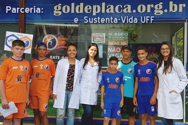 Projeto Gol de Placa e Programa Sustenta-Vida